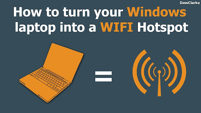 Turn your Windows 7 PC into a WiFi Hotspot