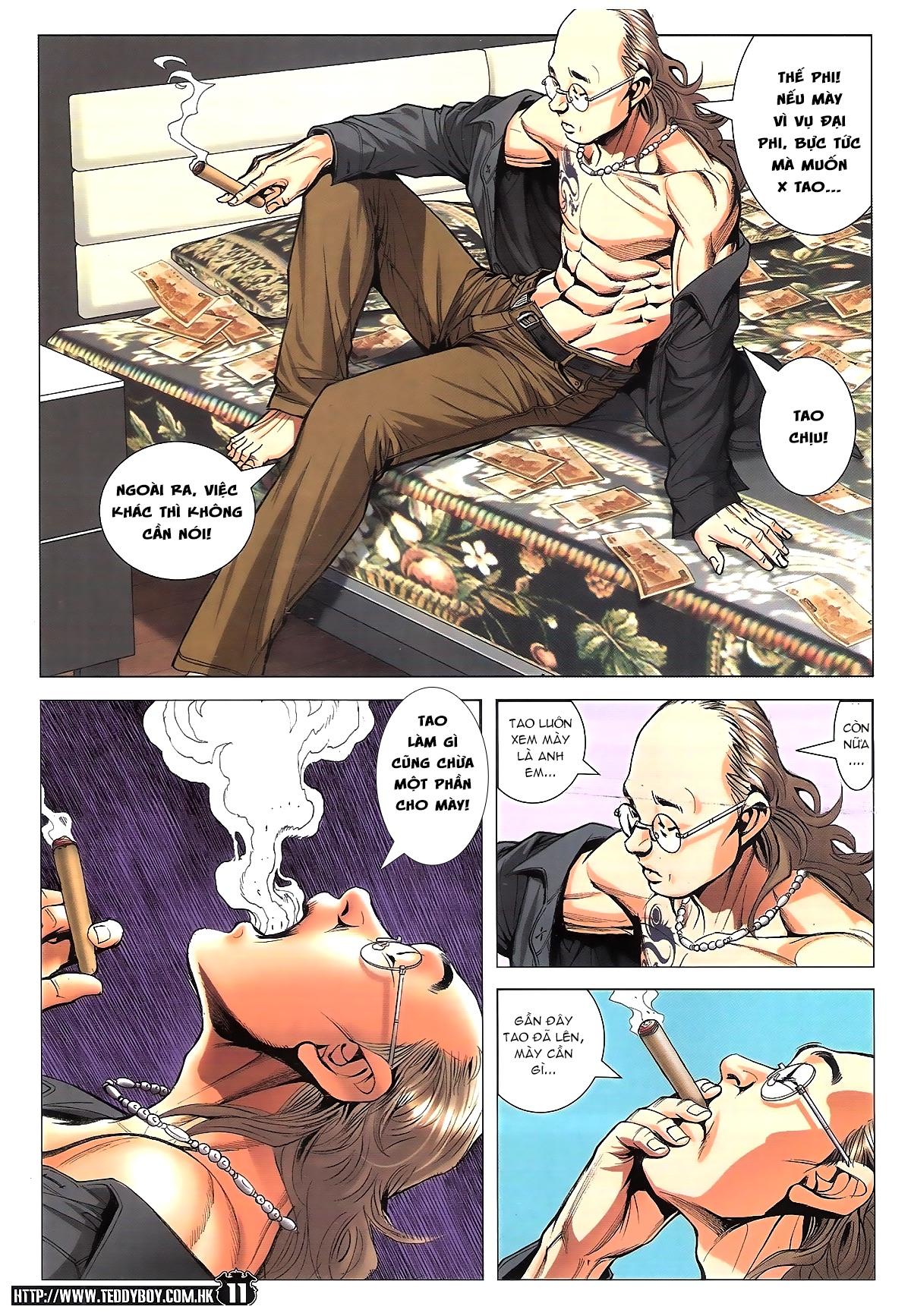 Người Trong Giang Hồ chapter 1782: tao đề bạt mày trang 9