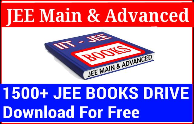 JEE Main and Advanced Books PDF DOWNLOAD free