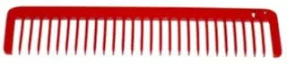 Best Chicago Comb Co Cardinal Red Model 5
