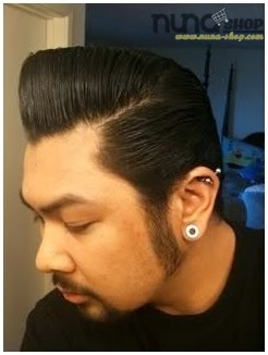 Pemakaian Pomade Murrays Hair Styling atau Minyak Rambut Super Ligh 2