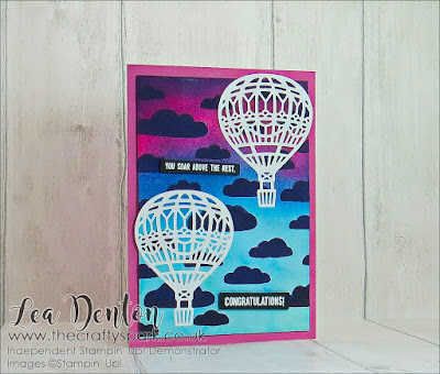 Up & Away With Embossing Paste