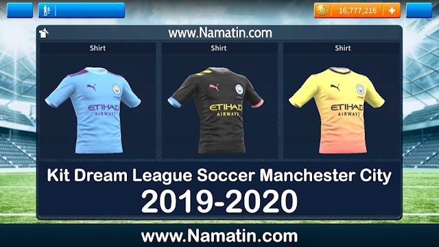 Kit Dream League Soccer Manchester City