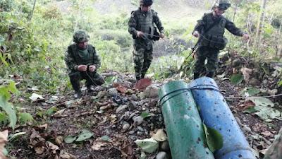Ejército Nacional incautó explosivos en Nóvita afectando las actividades del ELN.