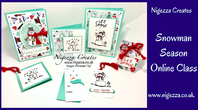 Nigezza creates with stampin up snowman online class