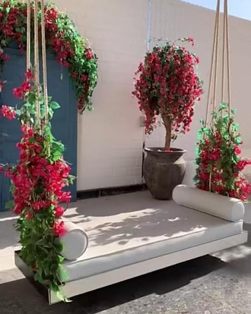 تنسيق حدائق الرياض تزيين حديقة المنزل بالرياض افضل تصميم جلسات سطح المنزل