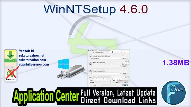 WinNTSetup 4.6.0