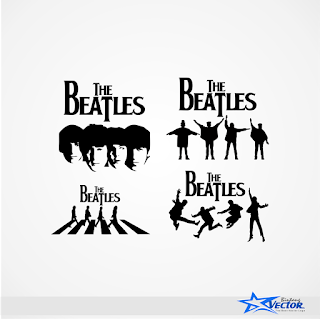 The Beatles Logo vector cdr Download