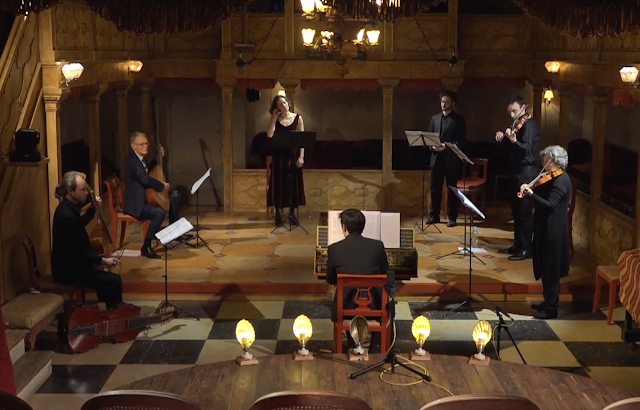 Music Antica Rotherhithe at Sands Films Music Room (taken from live-stream)