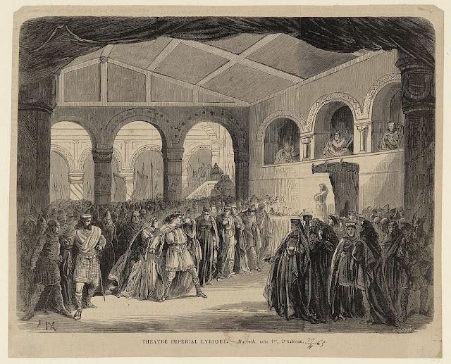Verdi: Macbeth - premiere of the revised version in Paris in 1865
