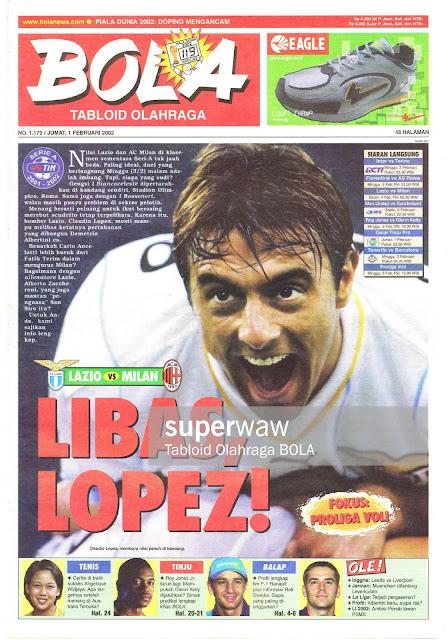 CLAUDIO LOPEZ ON MEDIA