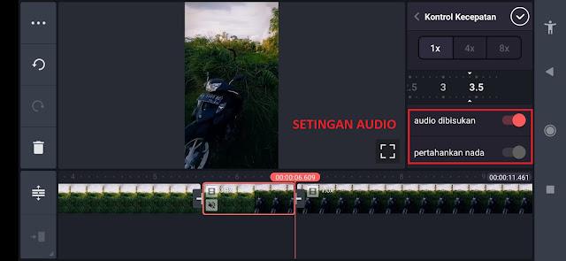 Cara Mempercepat Video (Fast Motion) dan Memperlambat Video (Slow Motion) di Kinemaster