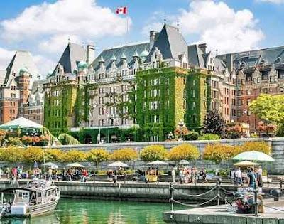 Tourist attraction of victoria city bc vancouver canada, victoria city