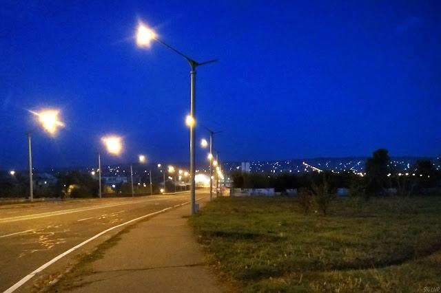 Ночной Луганск