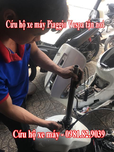 Sửa Xe Vespa Piaggio ? Tại sao chọn chúng tôi