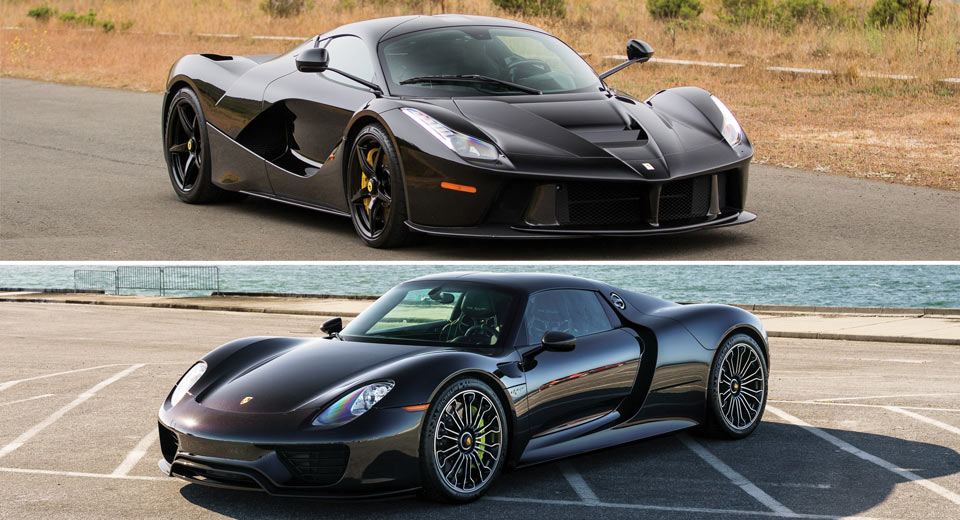 Laferrari Or Porsche Choose Your Murdered Out Hybrid Hypercar