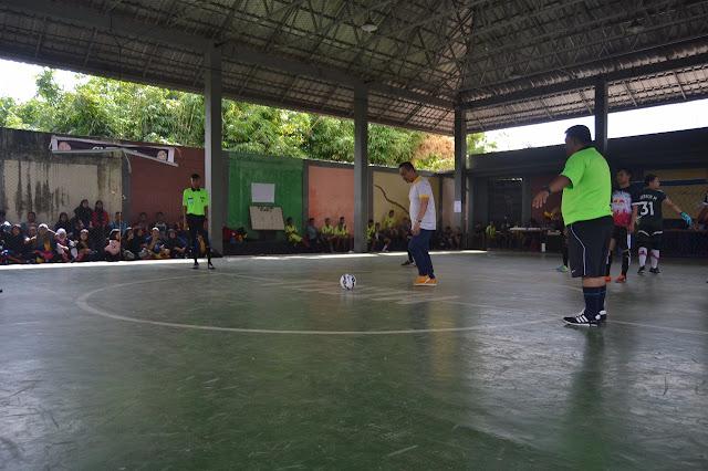 Peduli Gendrasi Mudah Irwan, ST Ikut Serta Turnamen Futsal