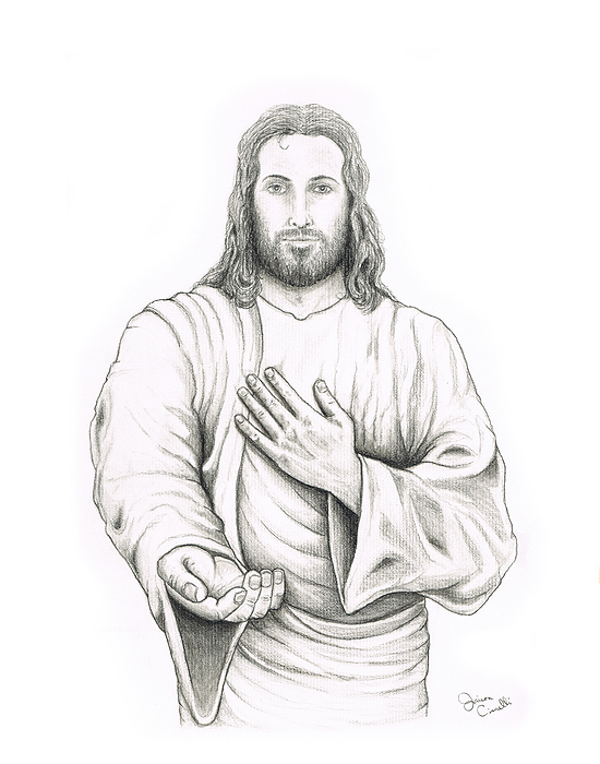 Jesus Drawings ~ Child Coloring