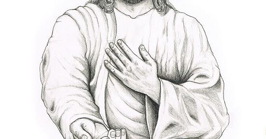 Jesus Drawings Child Coloring