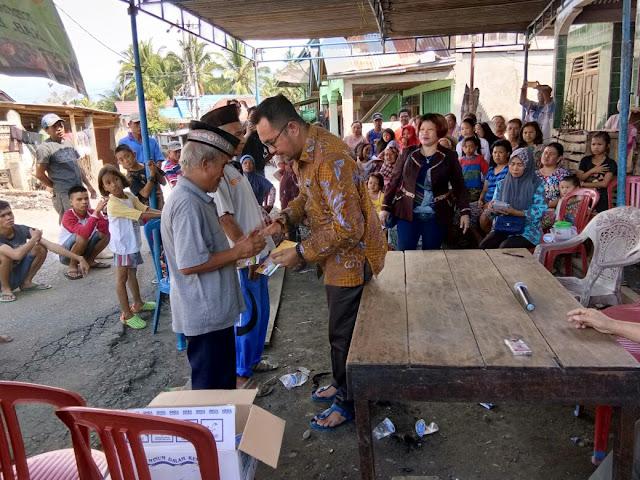 Ketua DPRD Empatlawang Berikan Bantuan