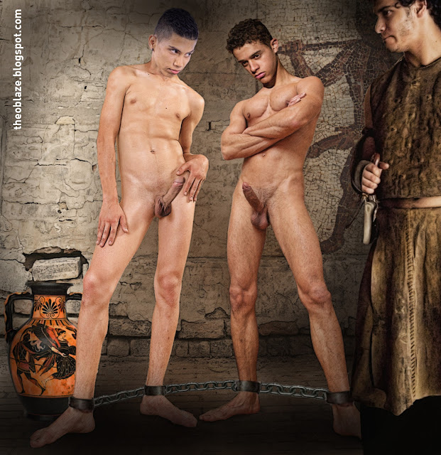 naked native american model