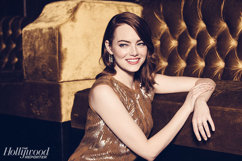 Emma Stone in The Hollywood Reporter, February 2017 Issue