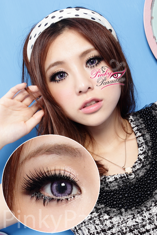 G&G Aloha Violet Circle Lenses (Colored Contacts)