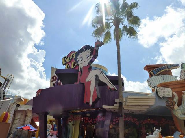 Betty Boop Universal Studios Orlando Floride