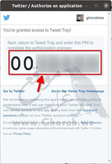 Tweet Tray Auth