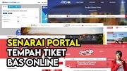Senarai Aplikasi dan Laman Web Beli Tiket Bas Secara Online