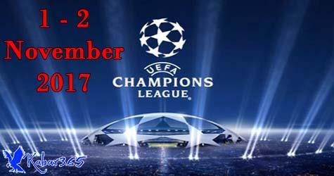 Jadwal Pertandingan Liga Champions Matchday 4 Group Stage