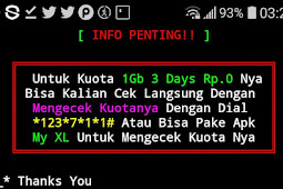 Tutorial Tembak XL Termux