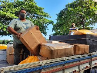 Governo da Bahia entrega mais de 532 mil máscaras para 223 municípios