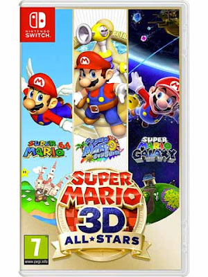 La copertina di ''Super Mario 3D All-Stars'' per Nintendo Switch
