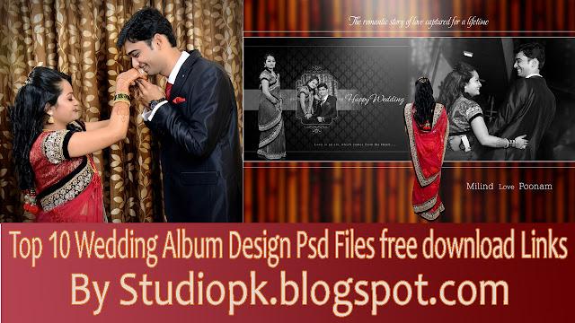 Wedding Album Design Psd Files