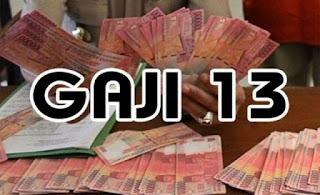 gaji ke 13 untuk pns