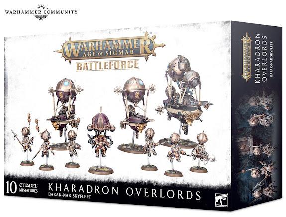 Kharadron Overlords Battleforce – Barak-Nar Skyflee