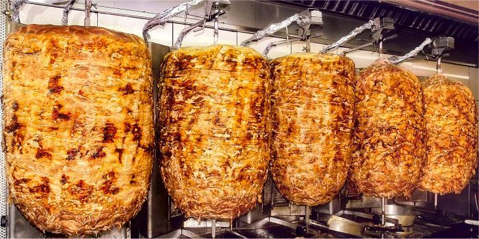 Pita Gyros di maiale e di pollo