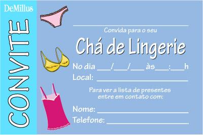 2e1dedcd2 Chá de Lingerie - Um novo Conceito em Moda Intima  2013