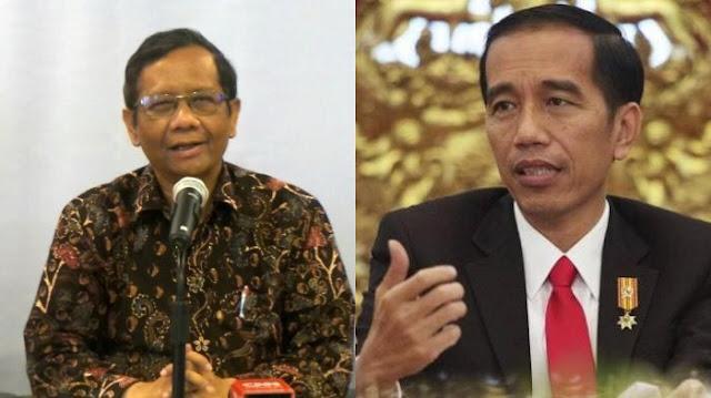 Komentar Prof. Mahfud MD Saat Dapat Dukungan Untuk Jadi Cawapres Jokowi....