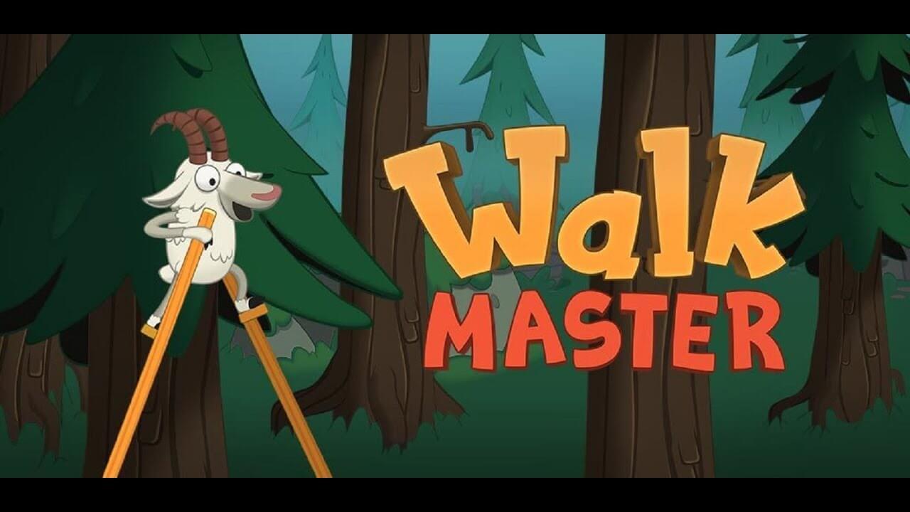 المشي الرئيسي عن قدم Walk Master لعبة شعبية في العديد من البلدان