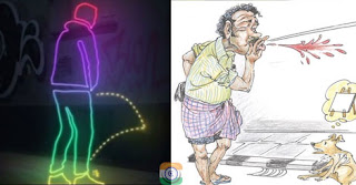 Penalty for urinating in open, spitting in Central Government Offices