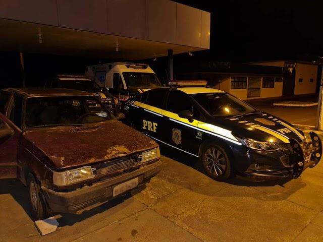 PRF prende quadrilha e recupera veículo em Campo Grande (MS)
