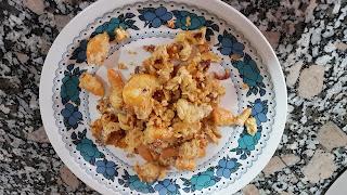 Revuelto/tortilla De Gambas, Jamón Y Champiñones En Fussioncook, Thermomix O Tradicional