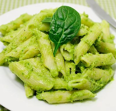 Creamy Avocado and Spinach Pasta #heatlhy #kidfriendly