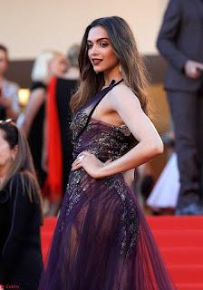 Deepika Padukone looks stunning Smiling Beauty in Cannes 2017