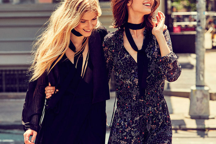Tendencias Otoño Invierno 2015 Moda fular negro