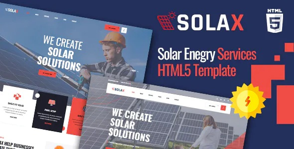Best Solar Company HTML5 Template