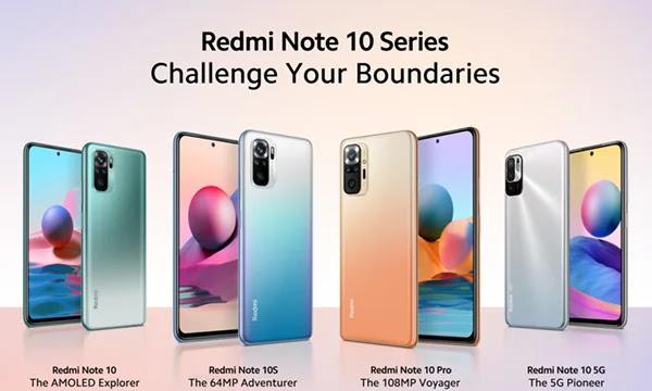 Fiche technique et spécifications Xiaomi Redmi Note 10.