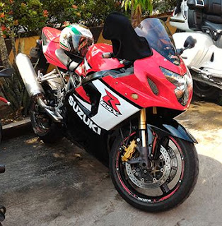 for sale Suzuki GSX R600 Tahun 2005